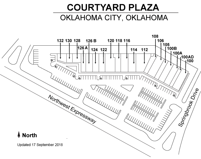 Courtyard Plaza Plan
