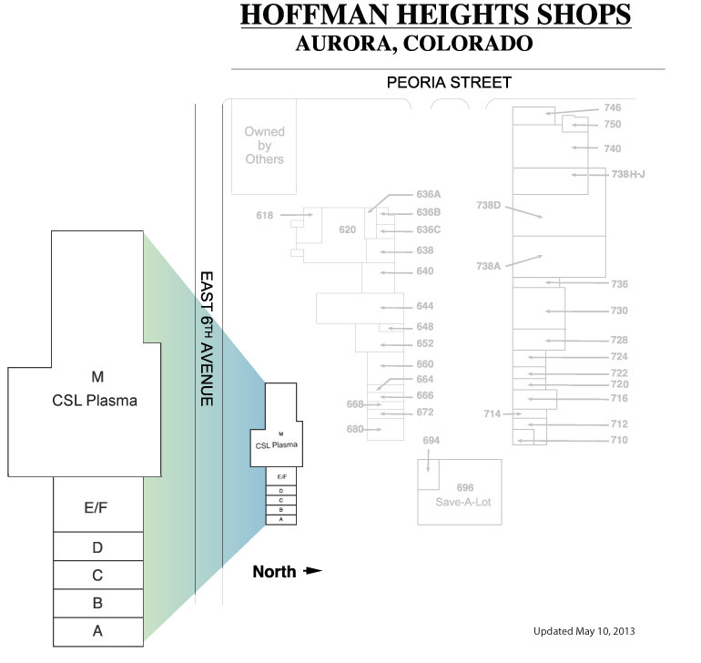 Hoffman Heights Shops Plan